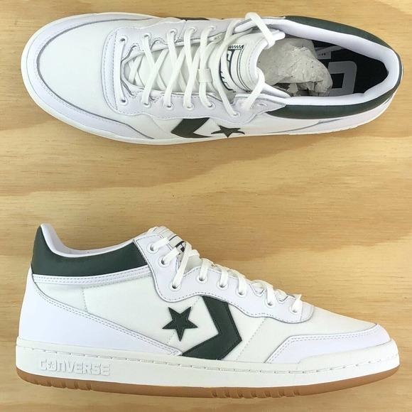 Converse Fastbreak Pro Mid Green White Gum Sz 10